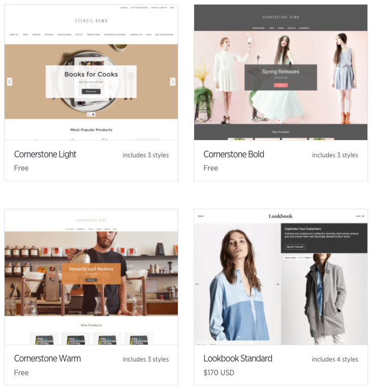 BigCommerce Templates Review