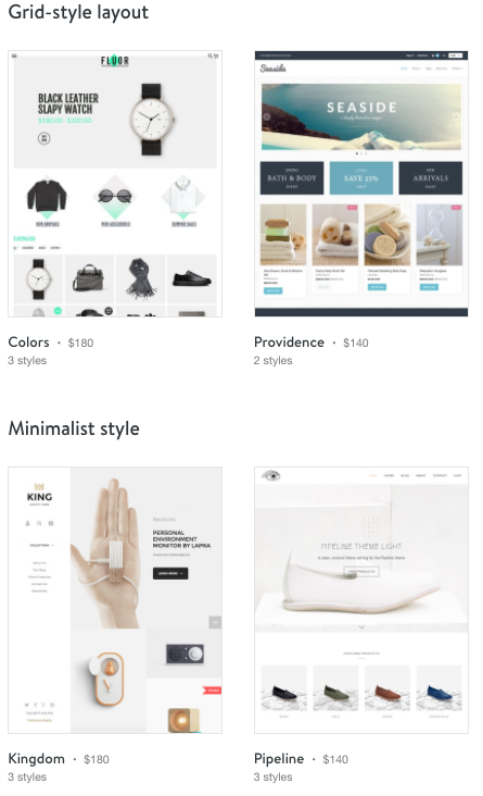 Shopify Review Templates