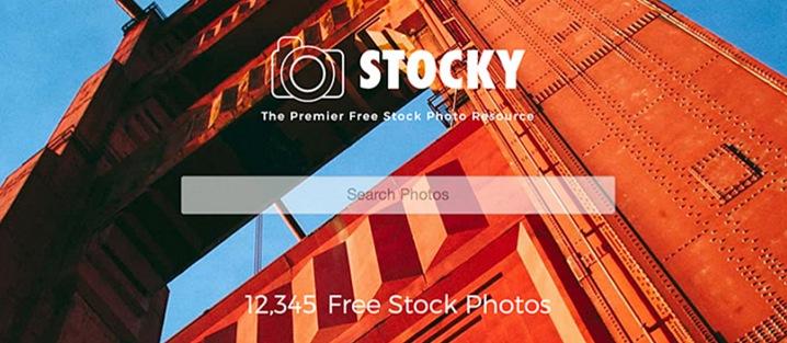 Stocky - Ultimate Joomla Photography Template