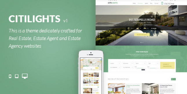 The Citilights Real Estate Theme