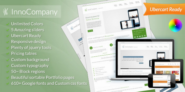 The InnoCompany Business Theme