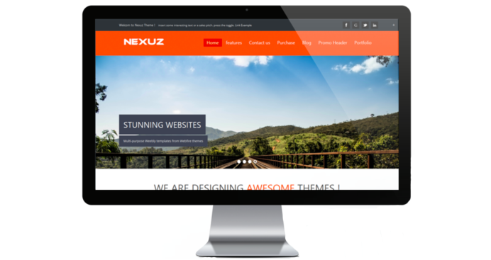 The Nexus Template weebly
