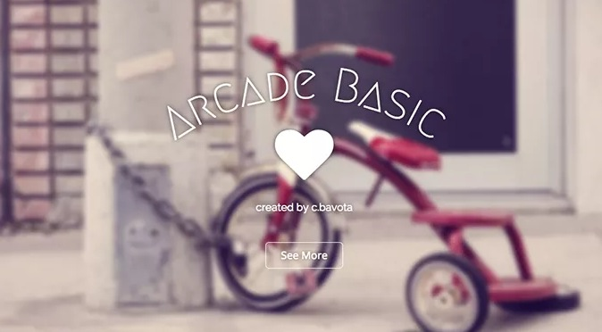 Arcade Basic wordpress