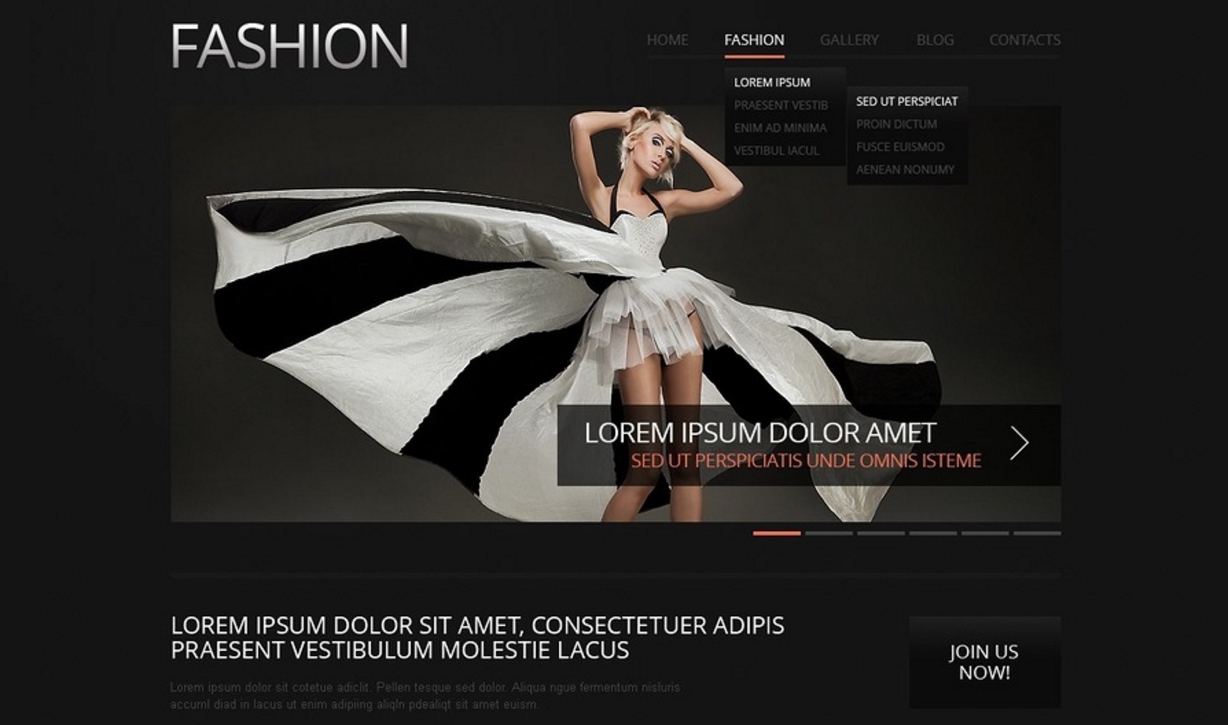 Inspiring Fashion Template