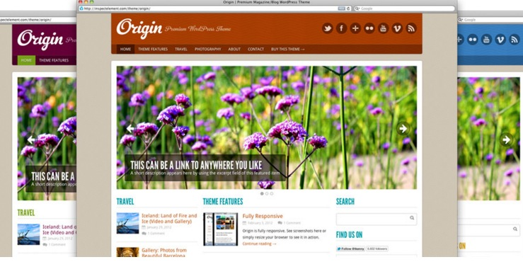 Origin Magazine Template