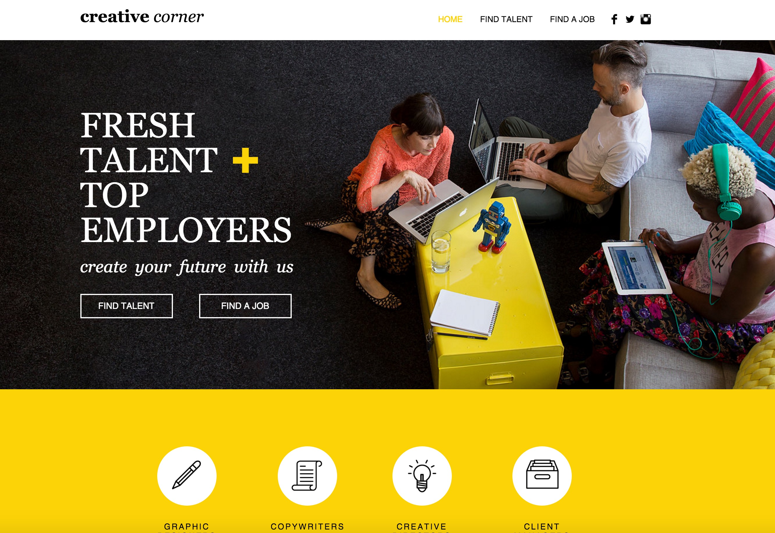 57 stunning wix website themes and templates for The make room website
