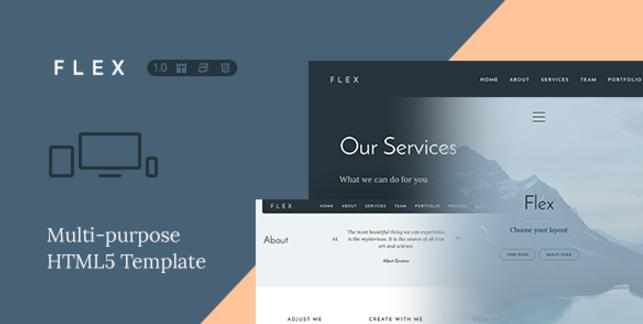The Flex html5 template
