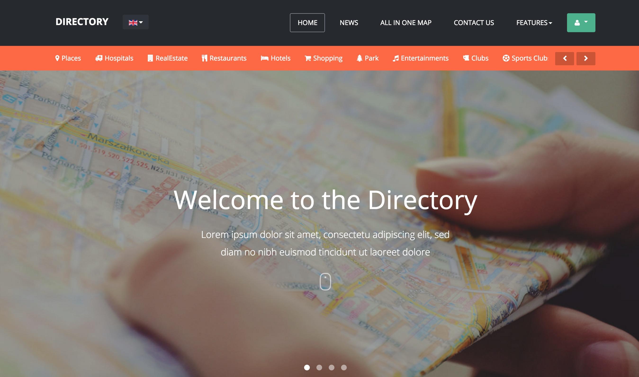 The JoomlArt Directory Theme
