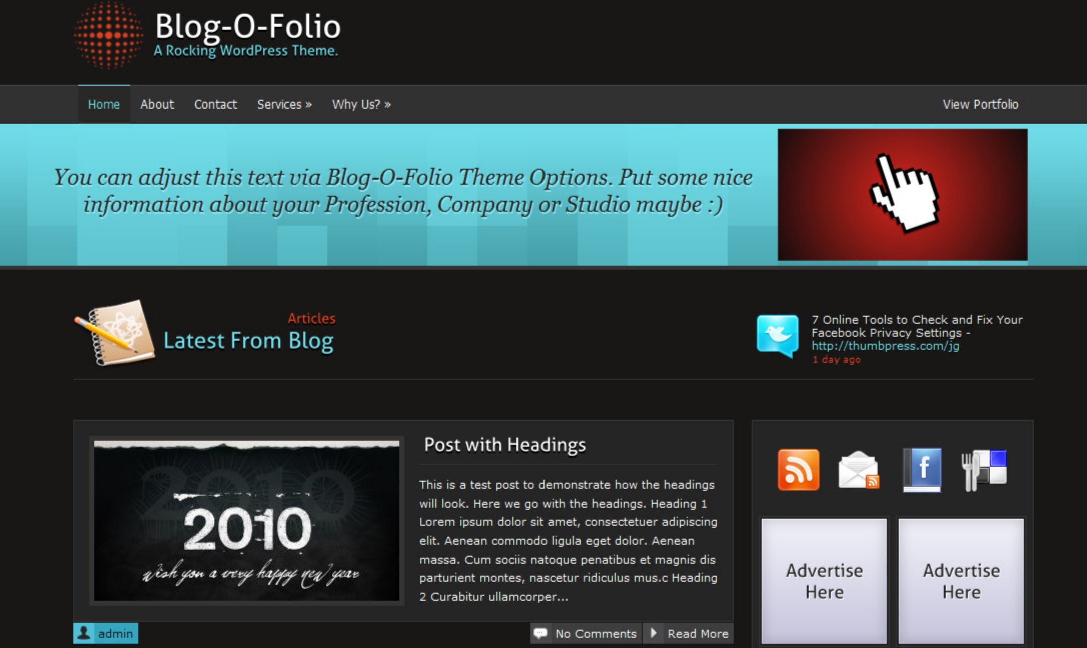 The Blog-O-Folio