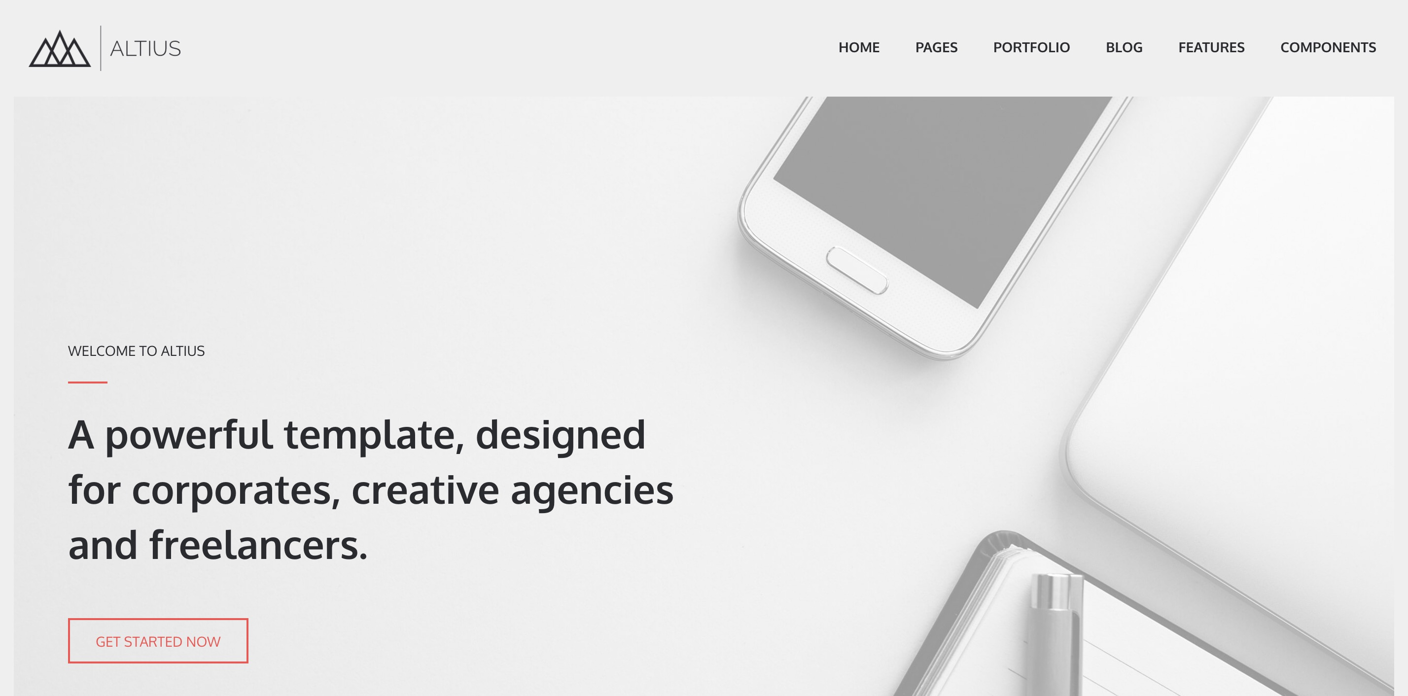 Altius Theme - The 2nd Edition