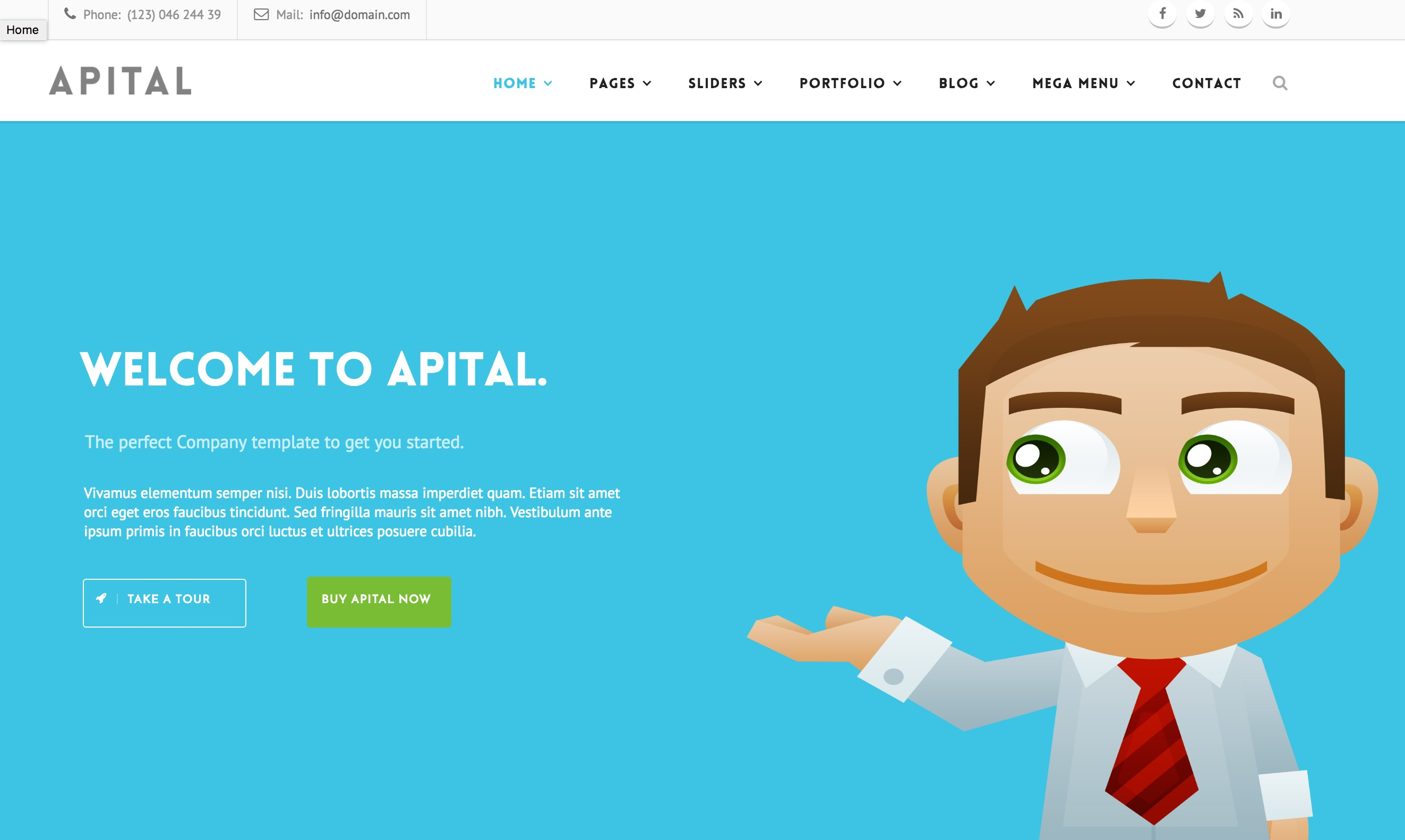 Ultra Premium Business Drupal Theme