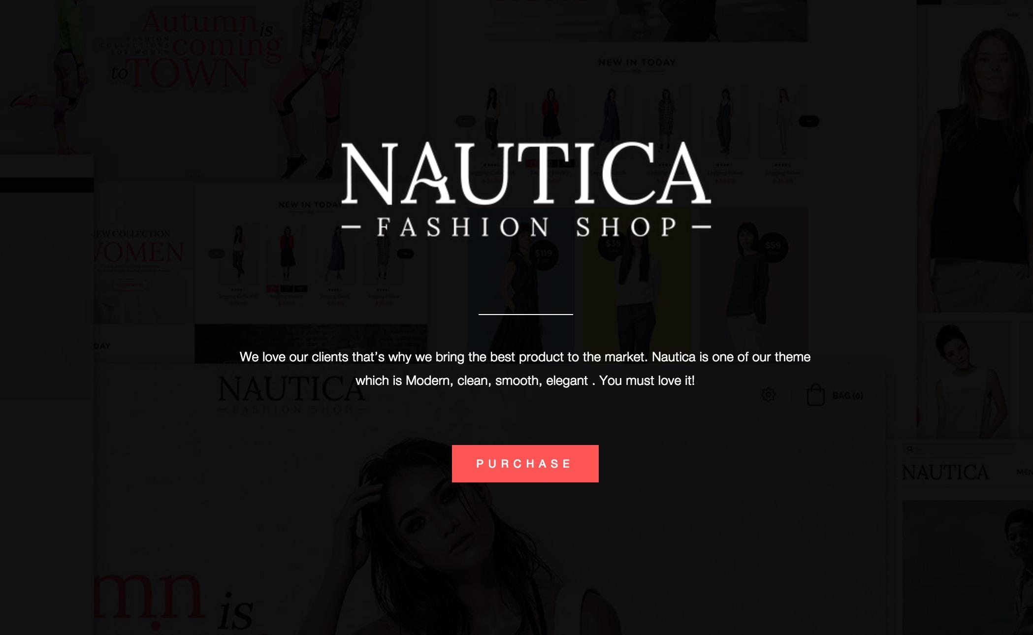 TV Nautica - Responsive Magento Fashion Theme