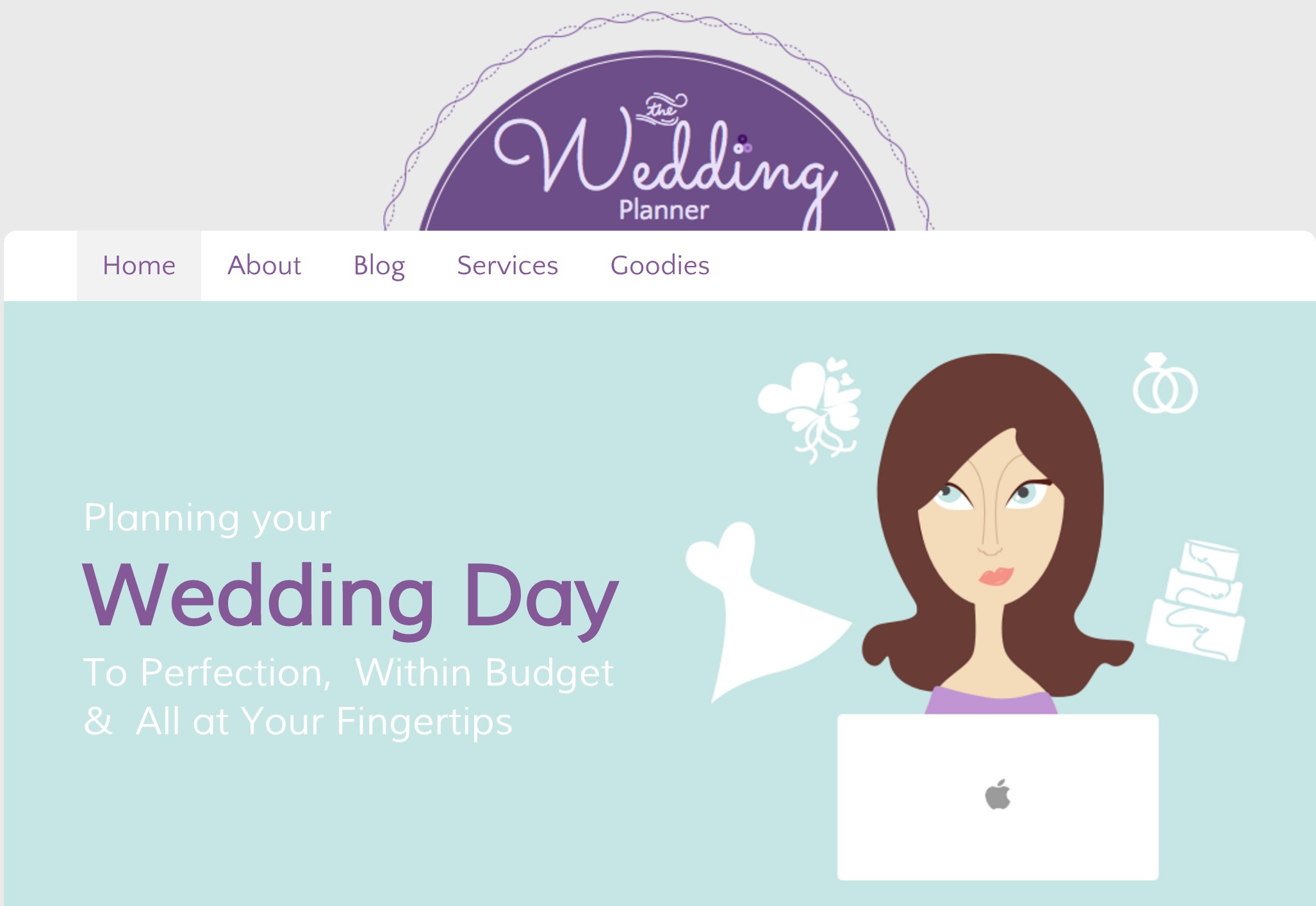 Wedding Planner Theme For Concrete5