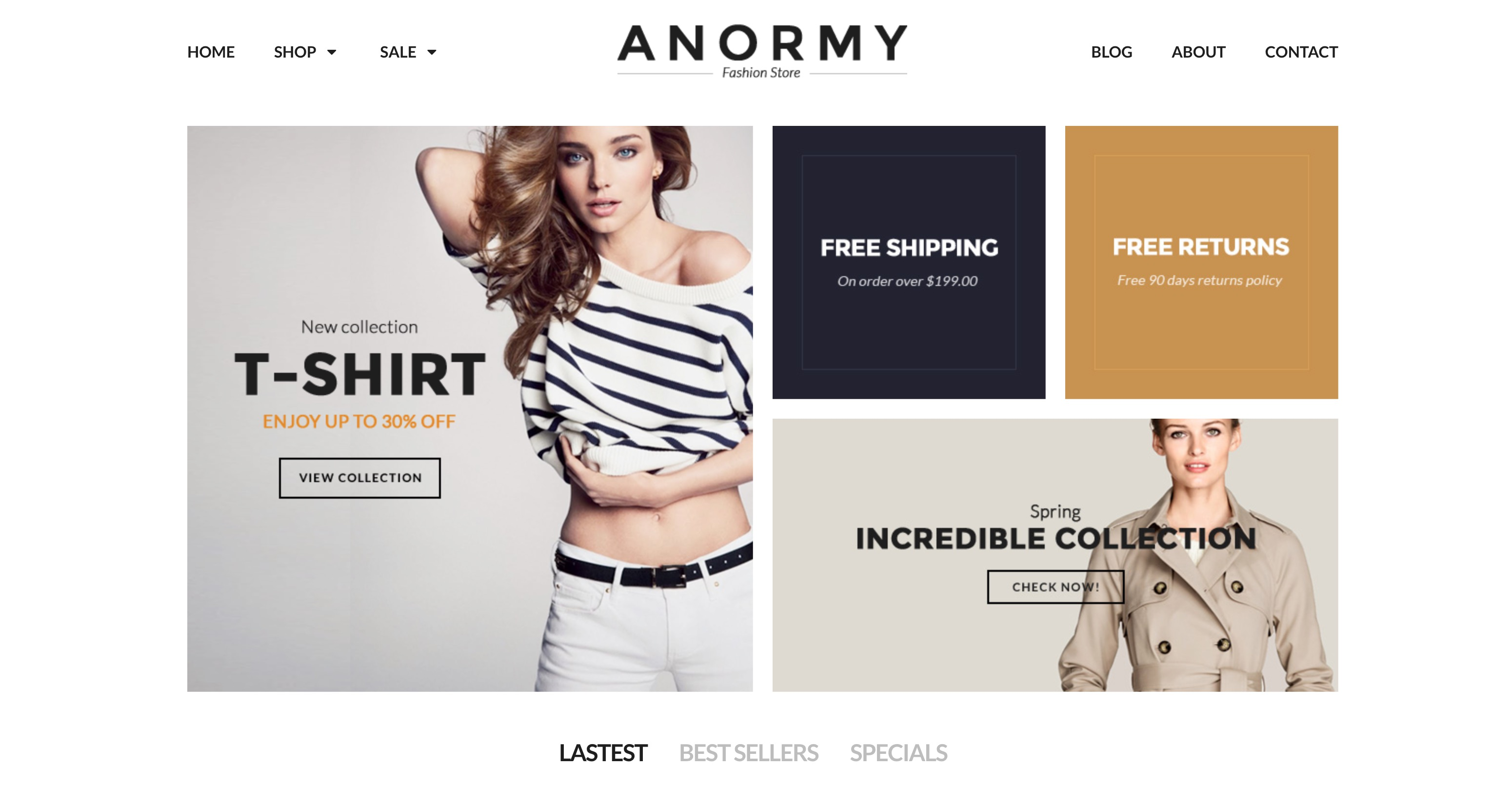 59 premium shopify themes to make your online store pop for Free shopify templates