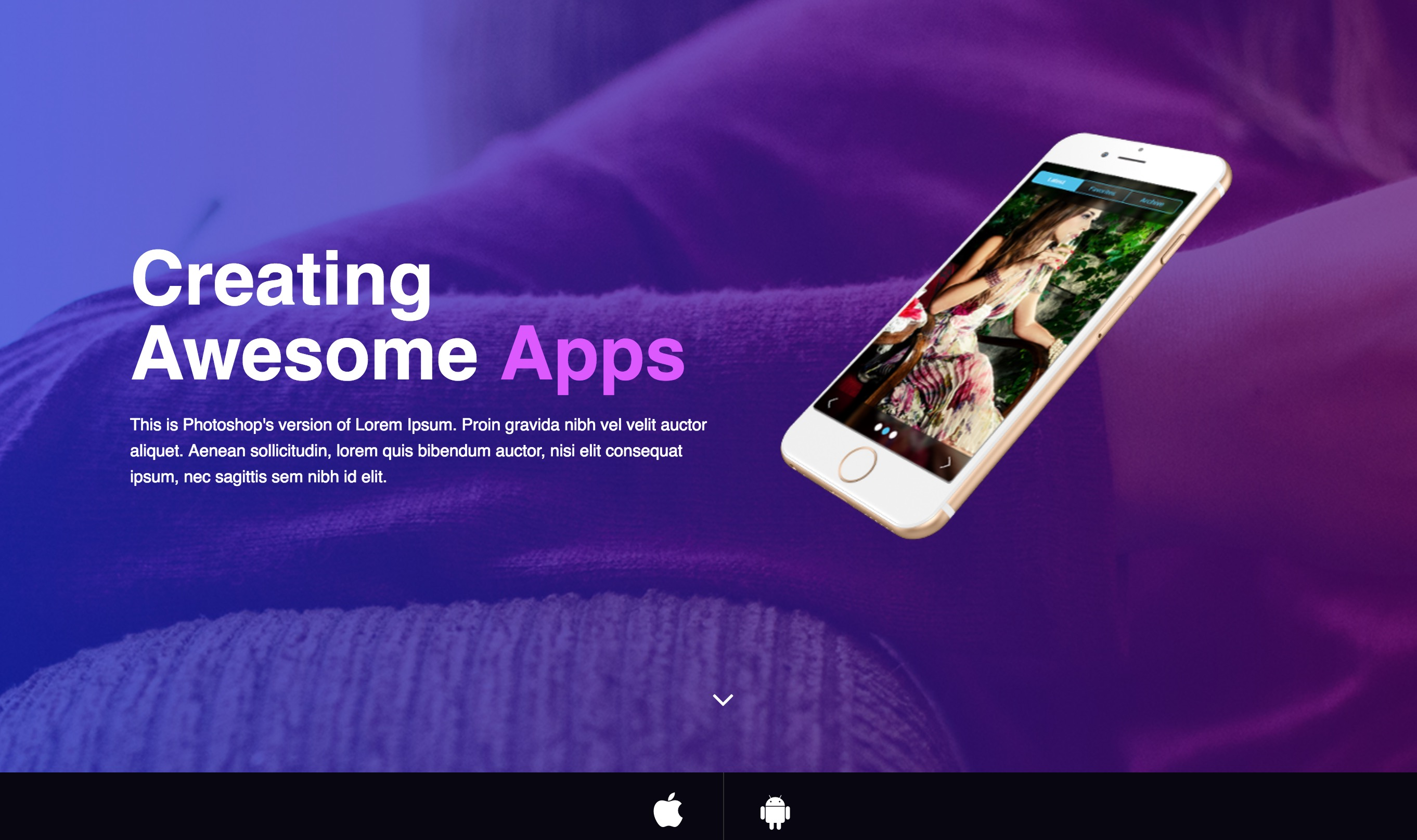 MiStartApp Responsive Joomla App