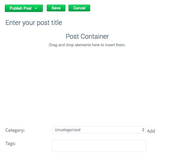 Zoho Website Builder Review Blogging Platform