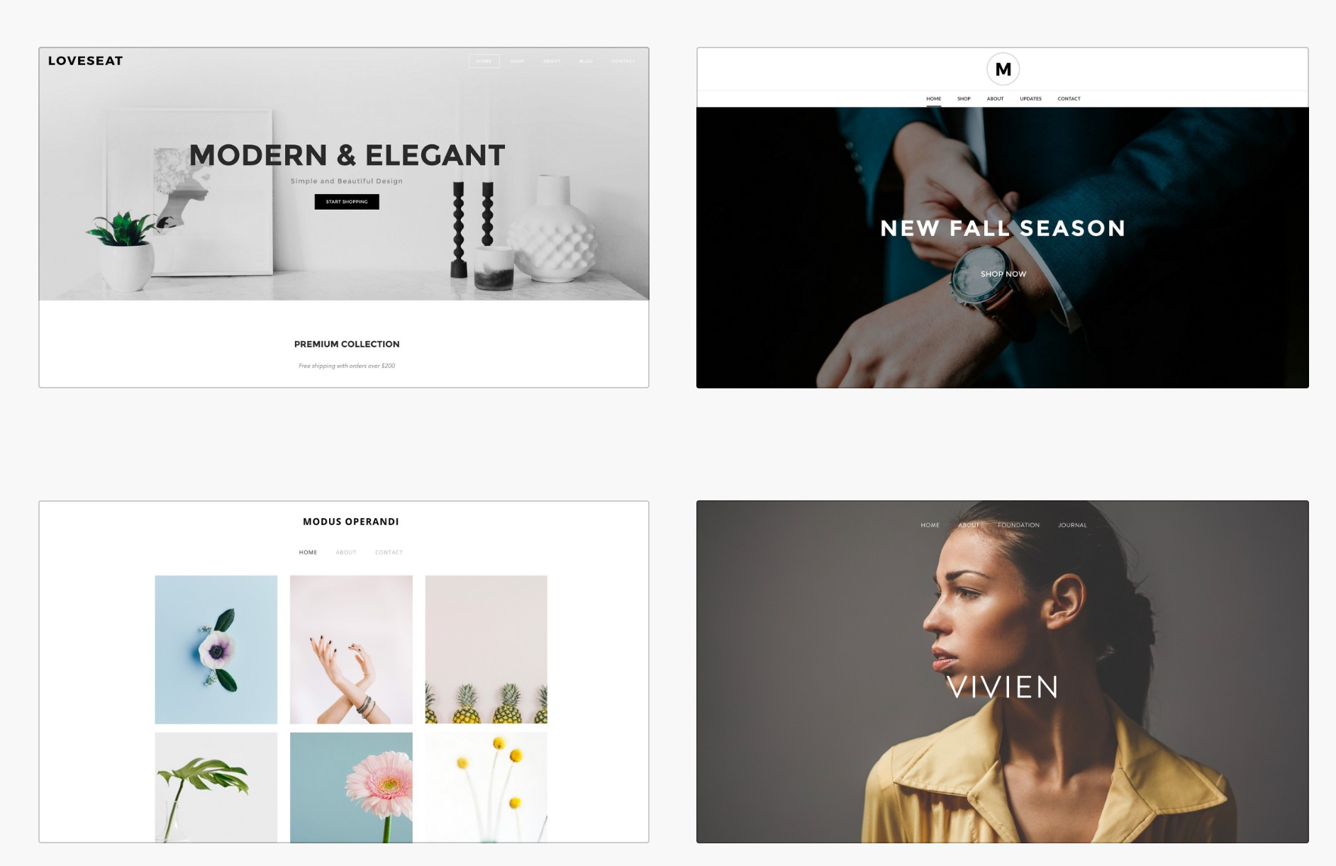 Paid Templates by Weebly