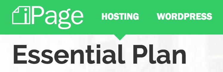 iPage Hosting plan