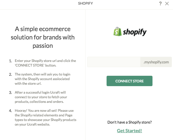 Ucraft Website Builder Review Shopify Add-on