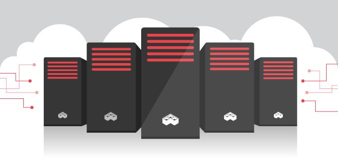 five hosting servers